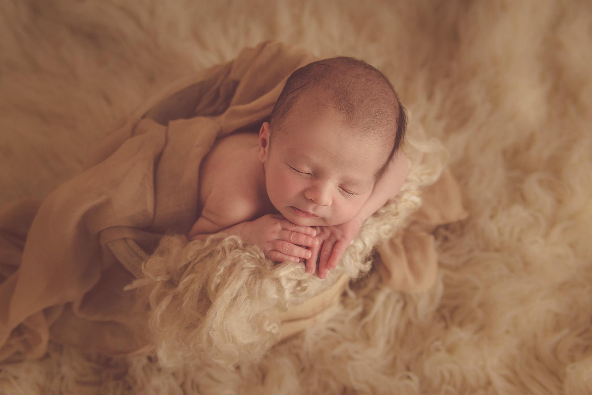 shooting bébé à la naissance sur Lille