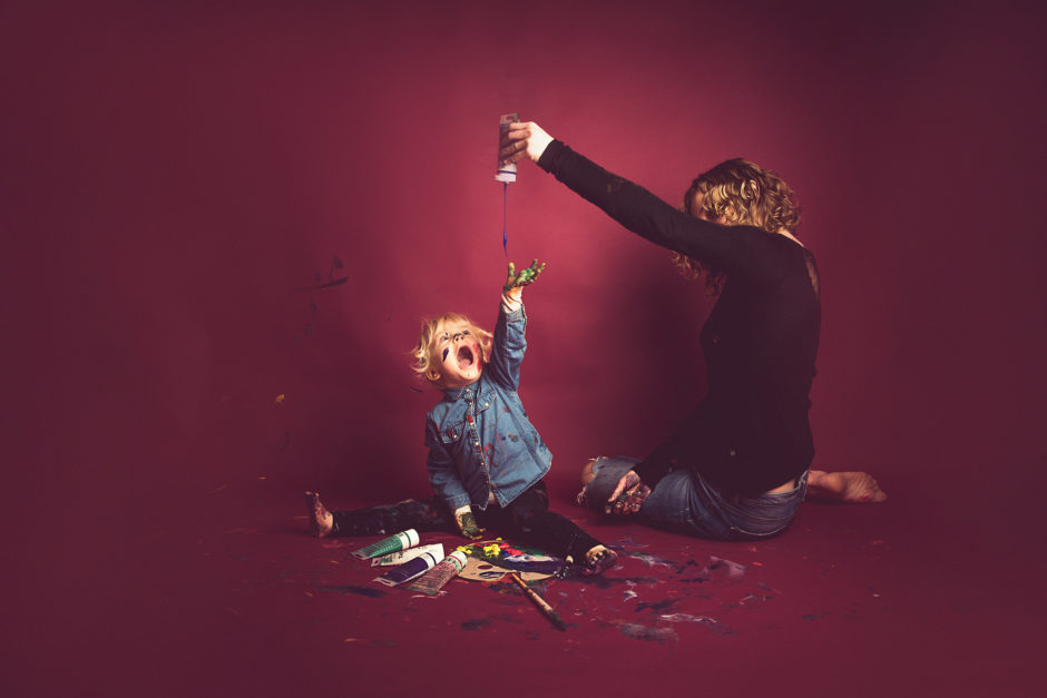 séance photo avec peinture sur Lille photographe Tourcoing (1)