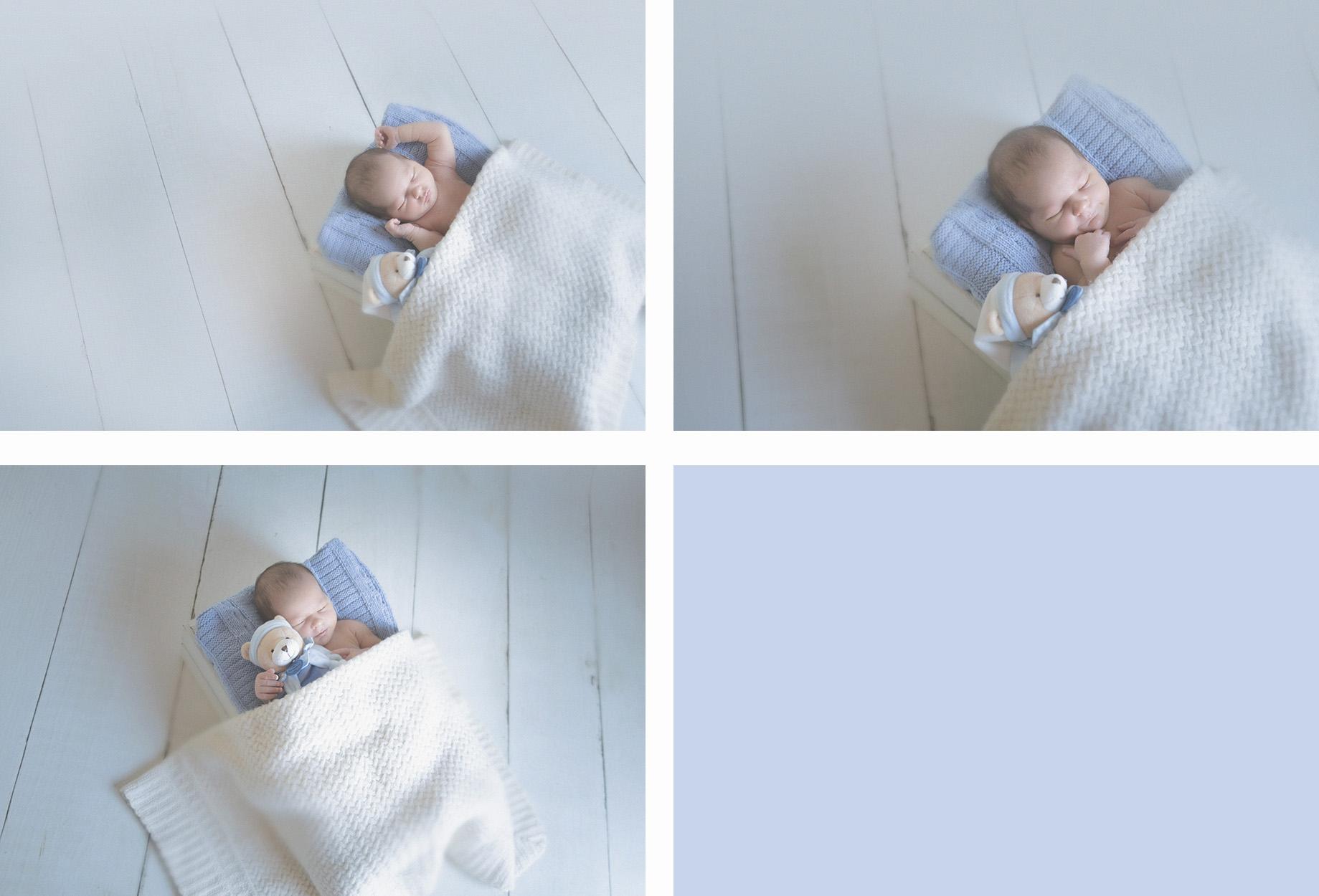 seance photo de naissance en studio photographe de nouveau né sur tourcoing bébé - one moment photographie
