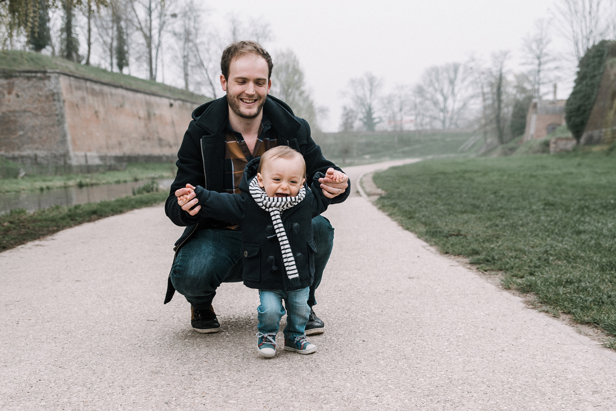 séance photo papa et fils sur lille photographe tourcoing