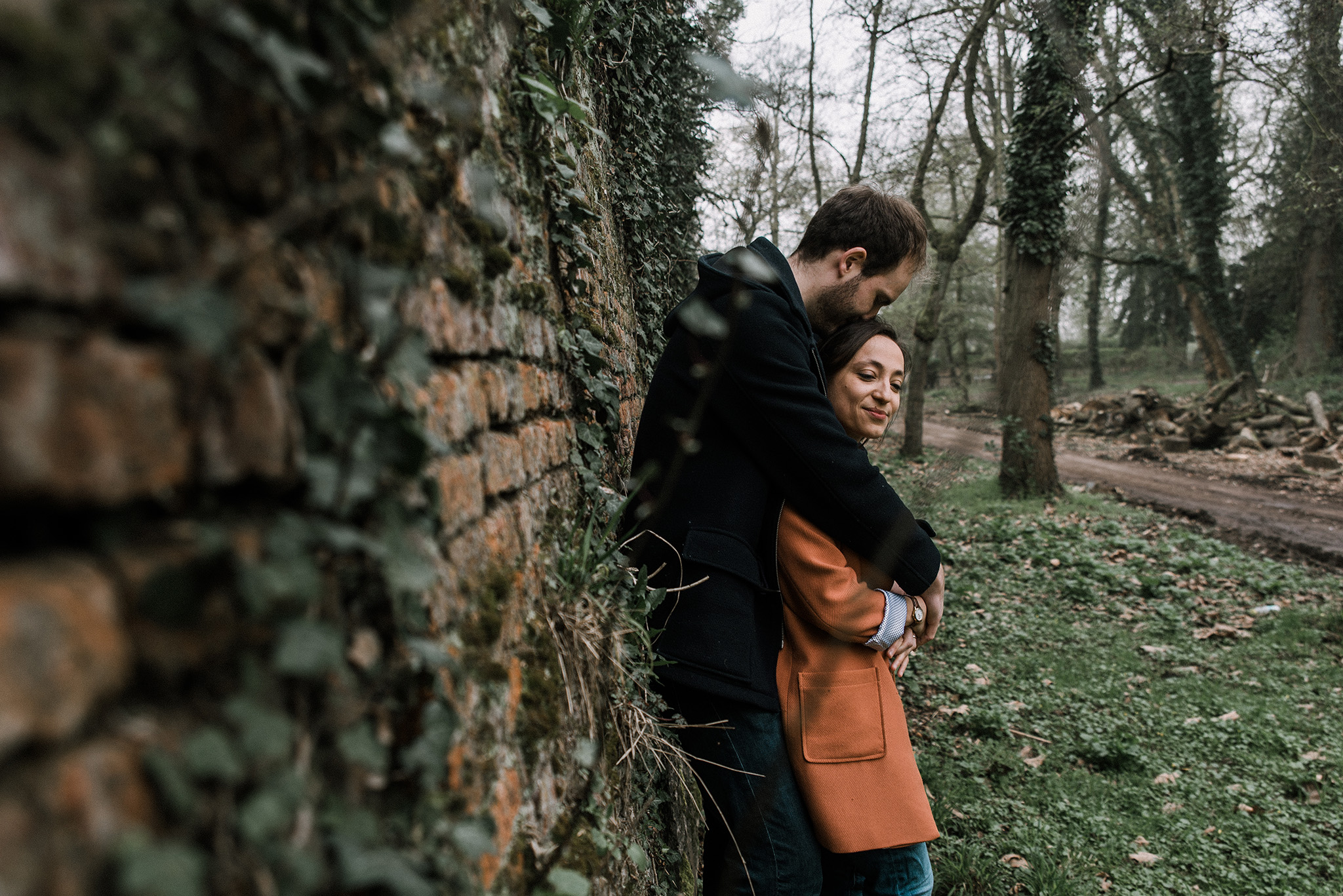 shooting couple avant mariage sur Lille photographe Nord