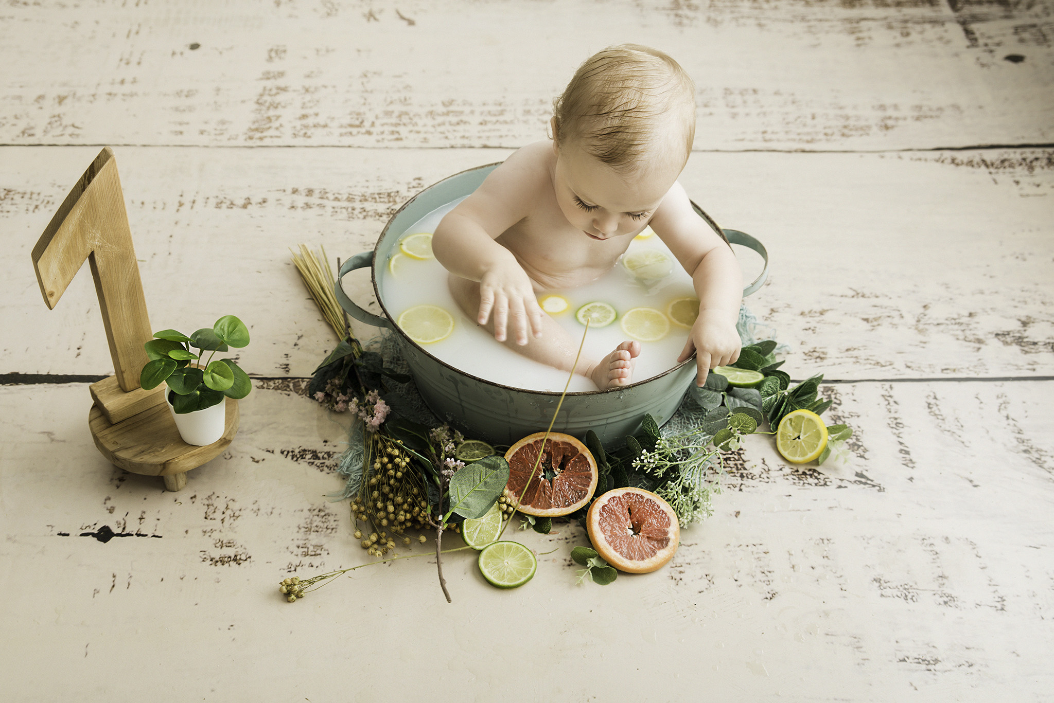 shooting bébé en studio photo sur Lille