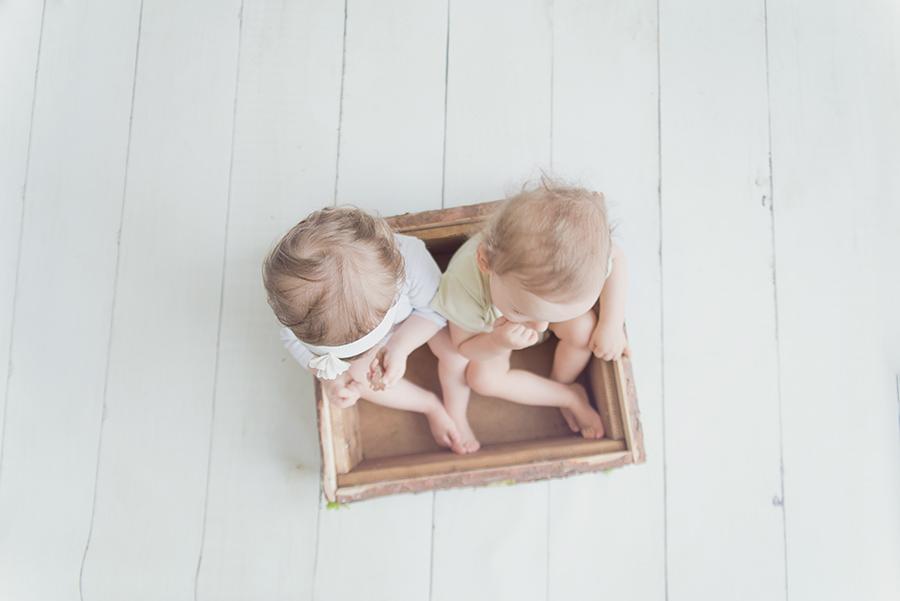 séance photo de jumeaux sur lille