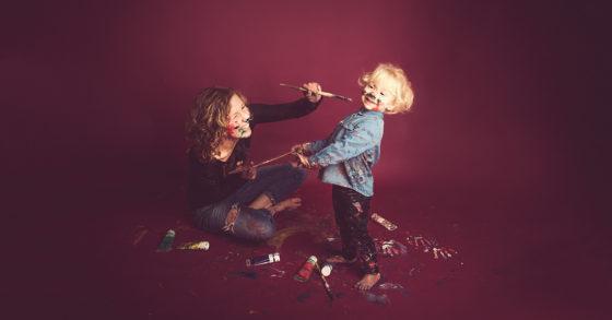shooting original famille peinture sur lille photographe tourcoing